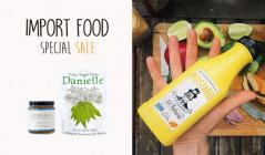 IMPORT FOOD SPECIAL SALEのセールをチェック