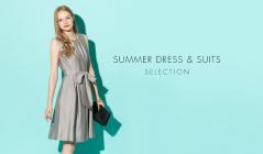 SUMMER DRESS & SUITS SELECTIONのセールをチェック
