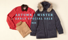 AUTUMN/WINTER EARLY SPECIAL SALE MENのセールをチェック