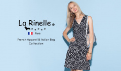 LA RINELLE - French Apparel & Italian Bag Collection -のセールをチェック
