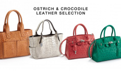 OSTRICH & CROCODILE LEATHER SELECTIONのセールをチェック