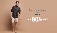 INTERNATIONAL GALLERY BEAMS MEN'S ALL 80% OFF SALEのセールをチェック