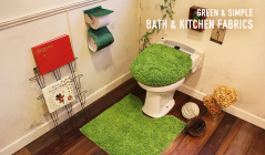 -GREEN & SIMPLE- BATH & KITCHEN FABRICSのセールをチェック