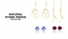 NATURAL STONE PIERCE COLLECTIONのセールをチェック