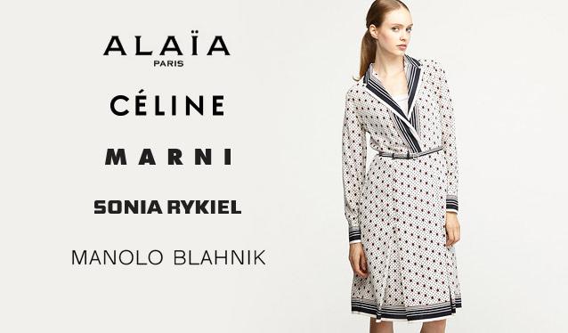 CELINE/MARNI/MANOLO BLAHNIK/AZZEDINE ALAIAのセールをチェック