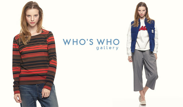 WHO'S WHO GALLERY LADIESのセールをチェック