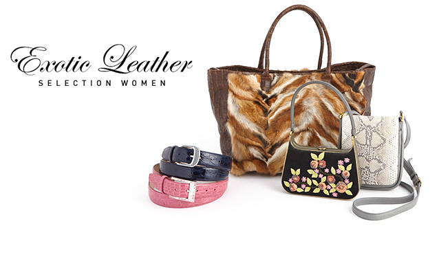 EXOTIC LEATHER SELECTION LADIESのセールをチェック
