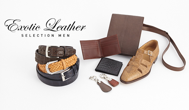 EXOTIC LEATHER SELECTION MENのセールをチェック