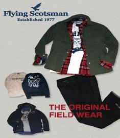 FLYING SCOTSMANのセールをチェック