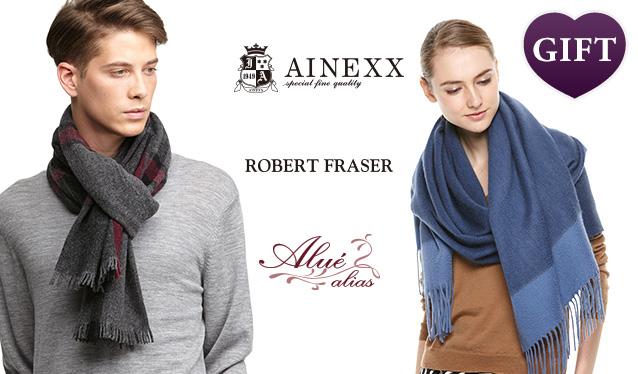 ALUE ALIAS & ROBERT FRASER MUFFLER SELECTのセールをチェック