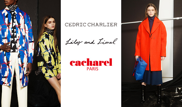 CEDRIC CHARLIER/LILY AND LIONEL/CACHARELのセールをチェック