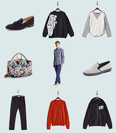 VIA BUS STOP MEN APPAREL&SHOESのセールをチェック