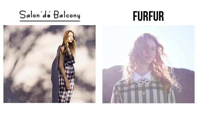 SALON DE BALCONY/FURFURのセールをチェック