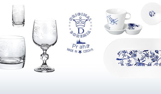 BOHEMIA BLUE ONION PRAHA ECO/PRAHA WHITEのセールをチェック