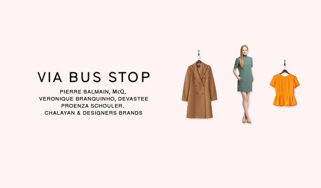 VIA BUS STOP WOMEN APPARELのセールをチェック