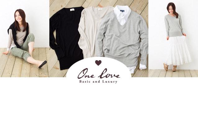 ONE LOVE/CREEのセールをチェック