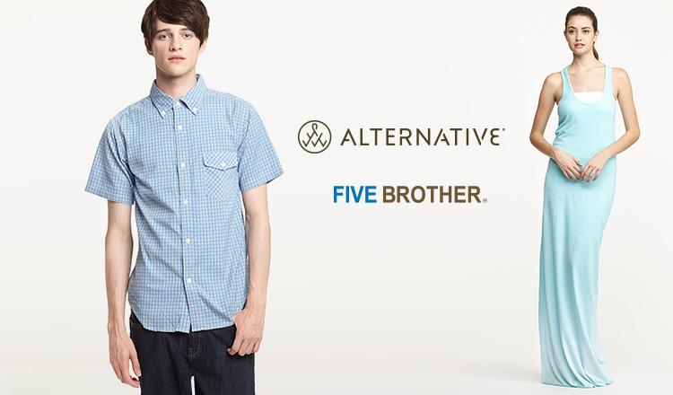 ALTERNATIVE/FIVE BROTHERのセールをチェック