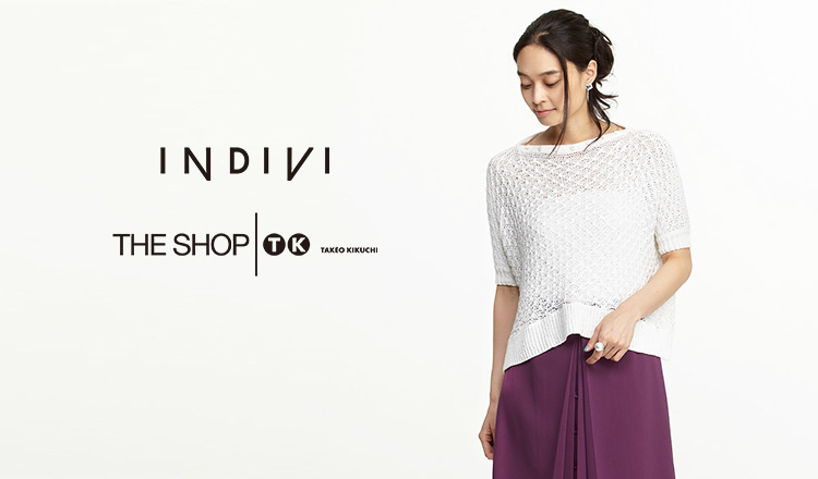 INDIVI/THE SHOP TKのセールをチェック