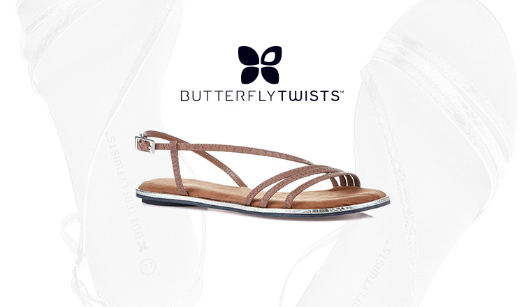 VACATION SHOES COLLECTION BUTTERFLY TWISTSのセールをチェック