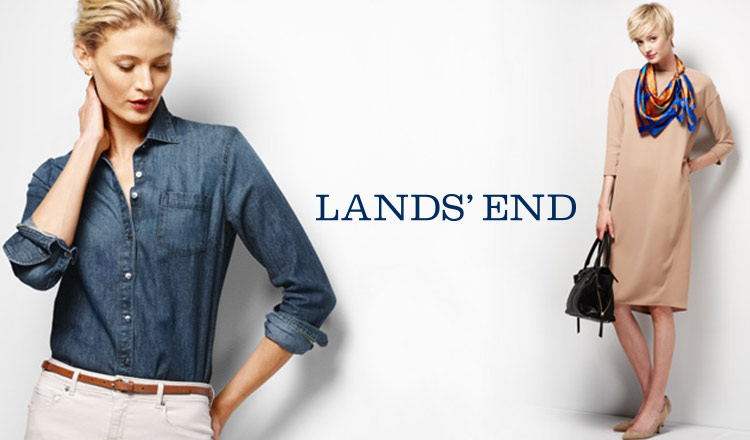 LANDS' END WOMENのセールをチェック