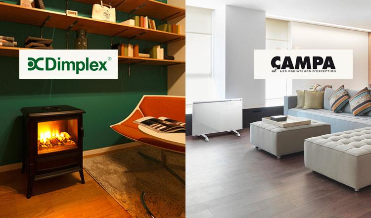 DIMPLEX/CAMPAのセールをチェック