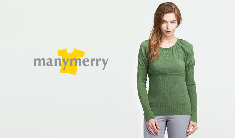 CASHMERE&ALPACA KNIT COLLECTION-MANYMERRY-のセールをチェック