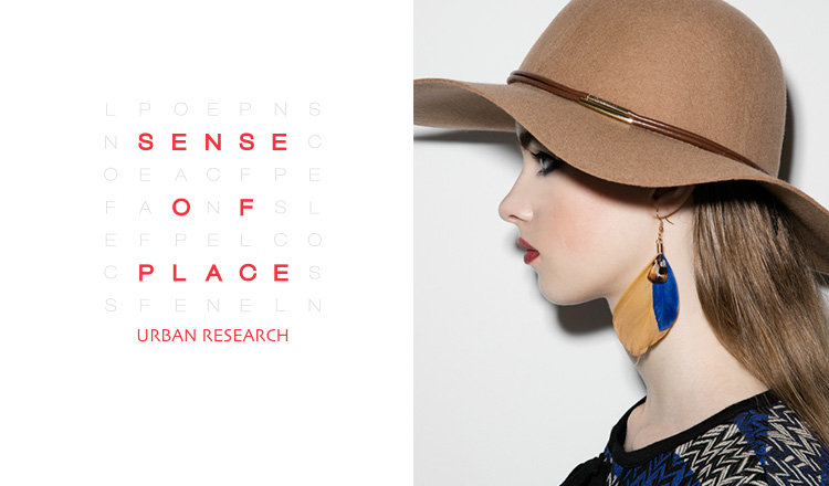 SENSE OF PLACE by URBAN RESEARCH WOMEN SHOES & BAGのセールをチェック
