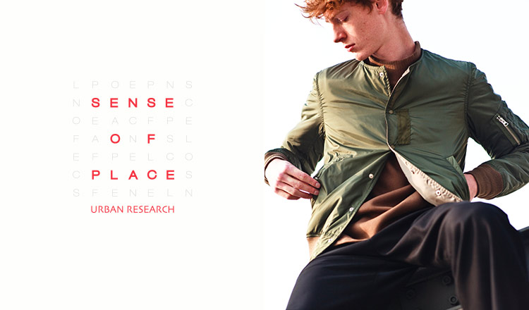 SENSE OF PLACE by URBAN RESEARCH MENのセールをチェック