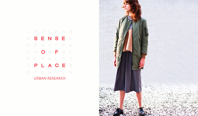 SENSE OF PLACE by URBAN RESEARCH WOMENのセールをチェック